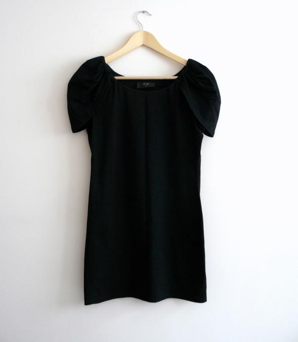 Suknie i sukienki AX sukienka mała czarna S