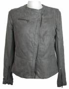 Krótka kurtka zamszowa DKNY Donna Karan