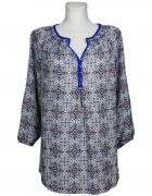 Bluzka koszulowa boho orientalny wzór Jones NY