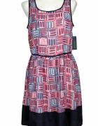Zwiewna sukienka Tommy Hilfiger