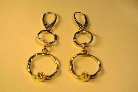 Kolczyki nowe srebrne kolczyki Apart część kompletu