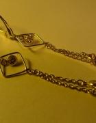 śliczne długie srebrne kolczyki Yes nowe