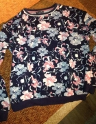 bluza kwiaty pudrowe kolory