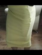 Nowa żółta dopasowana spódnica New Look