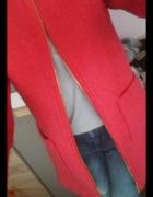 New look różowy płaszczyk na zamek Xs