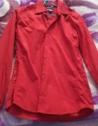 Czerwona Koszula H&M M