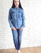 Koszula jeansowa ombre S