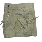 Spódniczka mini khaki bojówka 36
