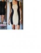 Sukienka Mosquito S mini dopasowana na lato