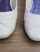 balerinki 40 białe