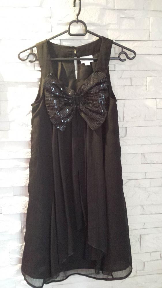Suknie i sukienki Sukienka Next kokarda cekiny