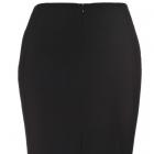 top secret spódnica elegancka barokowa czarna