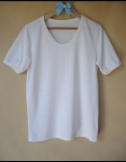 Biały t shirt rozmiar uniwersal