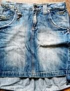 Jeansowa spódnica Frcomina