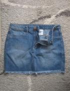 jeansowa spodnica h&m