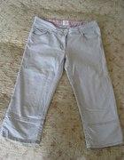 Spodnie rybaczki jasne H&M rozm 42