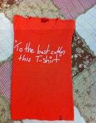 Bawełniana bluzeczka z napisem