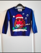 Dziecięcy świąteczny sweter christmas na święta