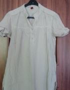 Koszula tunika na krótki rękaw