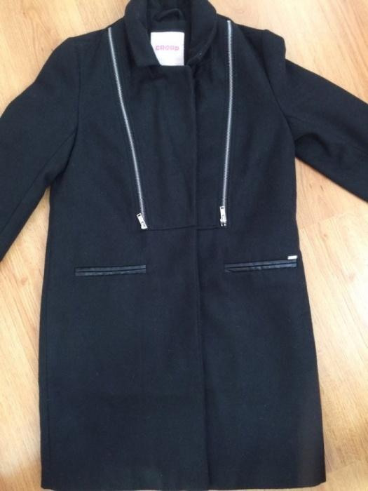 Czarny płaszcz Nowy CROPP...