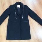 Czarny płaszcz Nowy CROPP