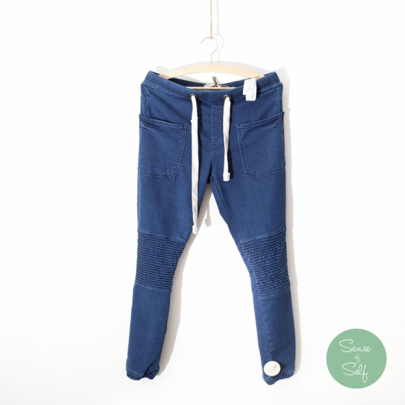 Spodnie Spodnie pomarszczone