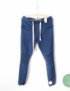 Spodnie pomarszczone