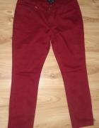 Bordowe spodnie AMISU