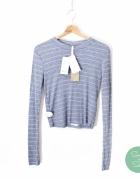 Prążkowana bluzka