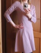 Sukienka pudrowy brudny róż BodyFlirt 34 36