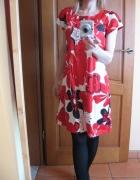 Sukienka suknia Vila 34 xs w kwiaty
