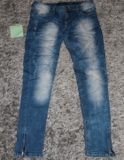 Modne spodnie RESERVED jeansy okazja