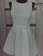 biała sukienka ASOS