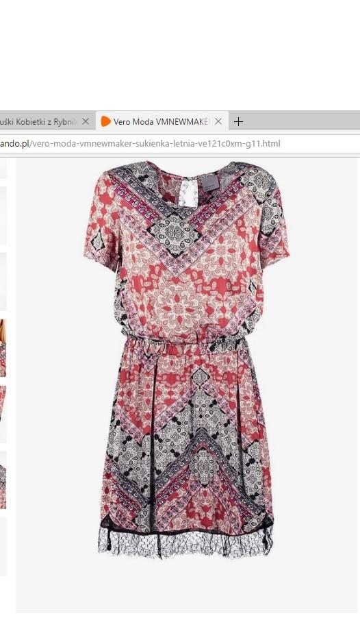 Suknie i sukienki Nowa sukienka Vero Moda z metkami
