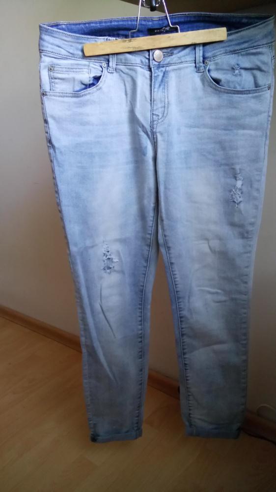 Spodnie Jeansy Boyfriendy Mohito workery S