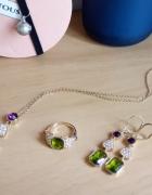 Komplet biżuterii 4 elementy super cena...