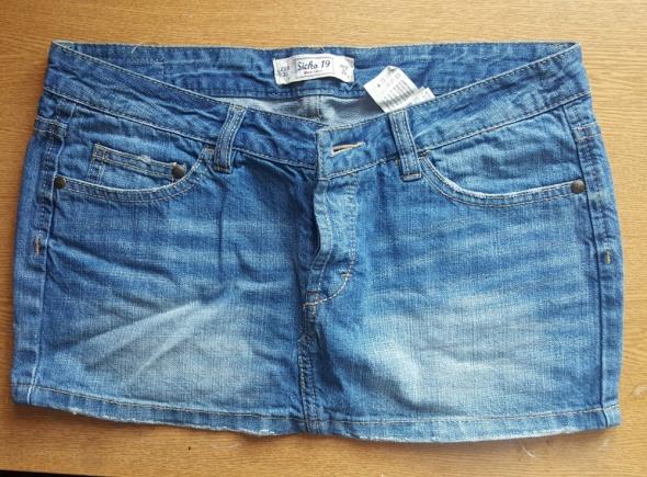 Spódnice Jeansowa spodnica Pull&Bear jak nowa