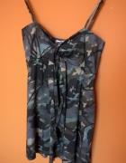 sukienka w moro militarna Pimkie khaki 36 38