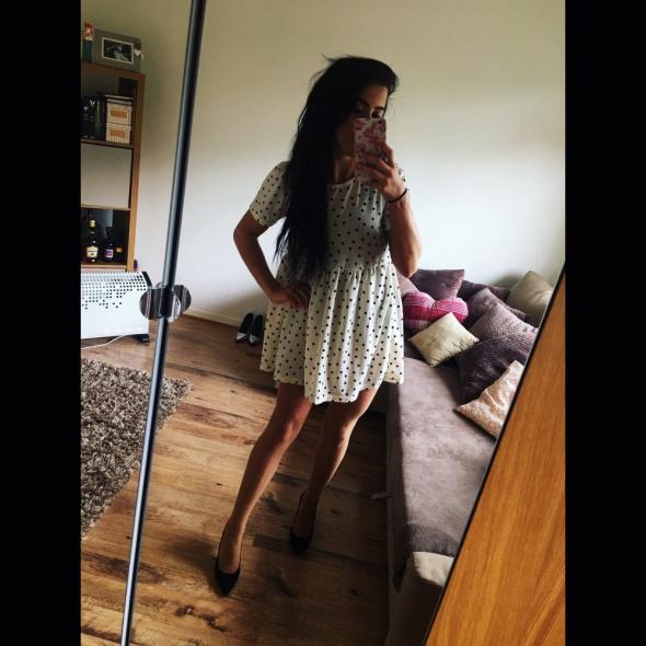 Romantyczne Sukienka w groszki