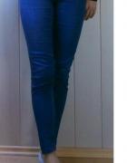 Spodnie rurki elastycznie 38 Denim