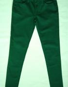 zielone rurki skinny denim co 38 m