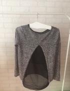 Bluzka sweterek delikatny melanż mgiełka S