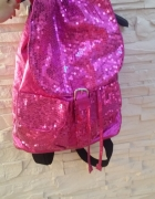 nowy cekinowy plecak