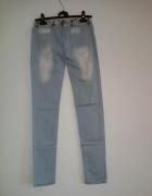 Tregginsy rurki jeansowe