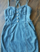 Sukienka dzinsowa