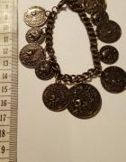 Bransoletka z monetami