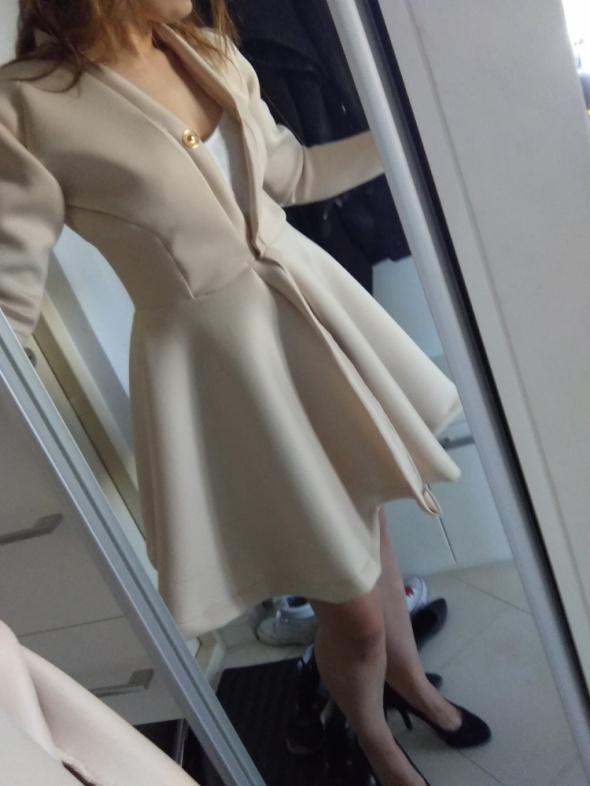 Codzienne Płaszcz neoprenowy