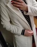Marynarka żakiet płaszcz biały