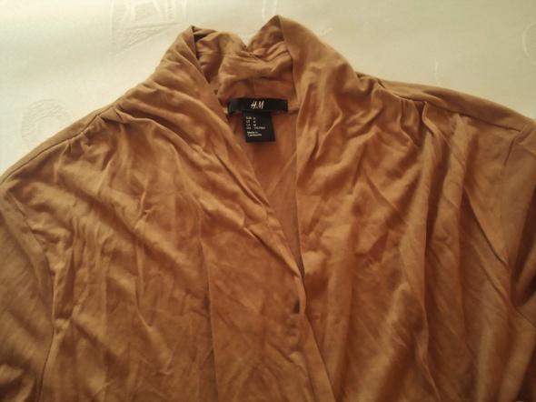 Suknie i sukienki H&M SUKIENKA DZIANINA CAPPUCINO