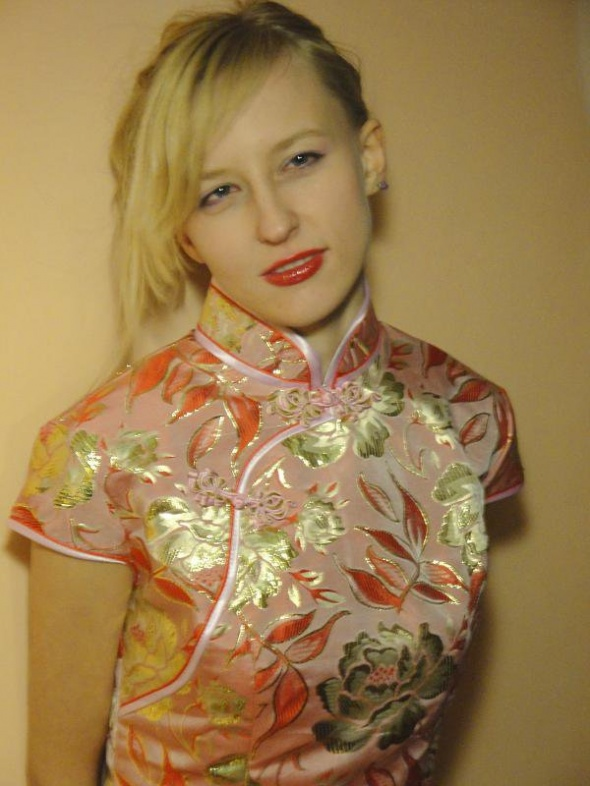 Suknie i sukienki Chińska Sukienka